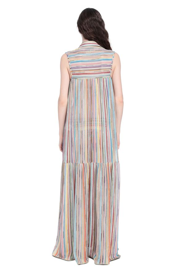 MISSONI Long beach coverall Woman, Rear view