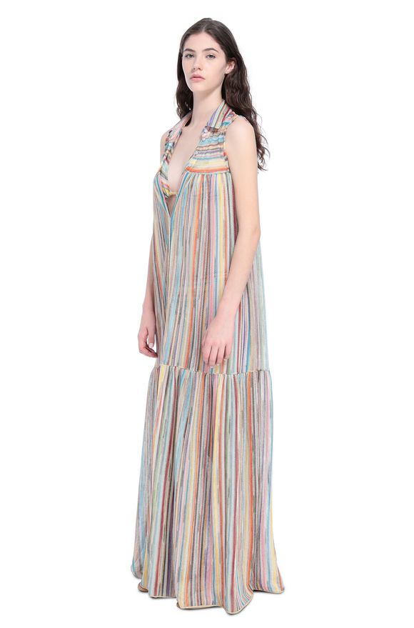 MISSONI Long beach coverall Woman, Side view