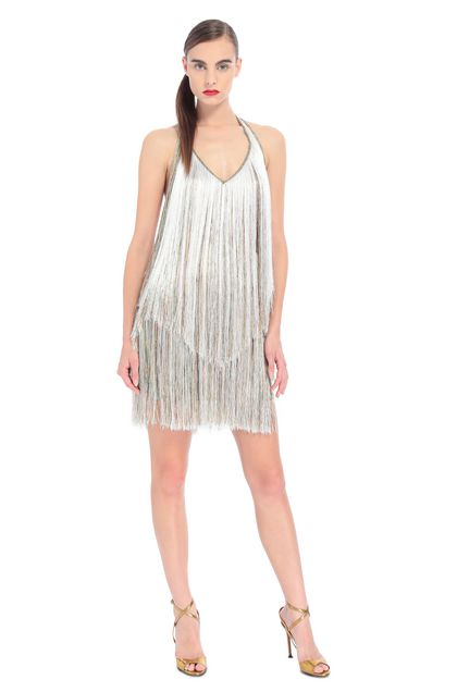 MISSONI Dress Beige Woman - Back