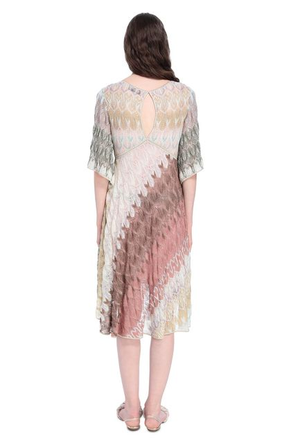 MISSONI Dress Beige Woman - Front