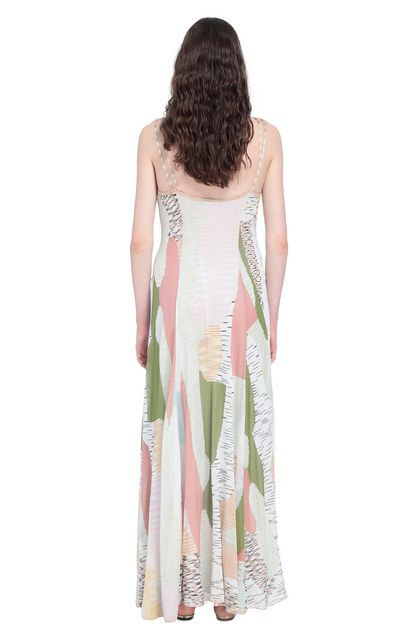 MISSONI Long dress Beige Woman - Front