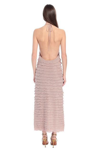 MISSONI Dress Pastel pink Woman - Front