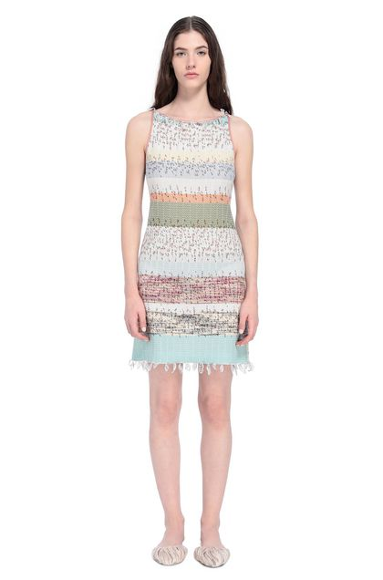 MISSONI Dress Green Woman - Back