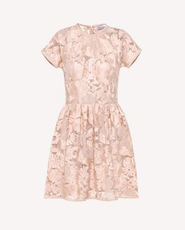 REDValentino Short dress Woman RR3VA6C5DIP GD8 a