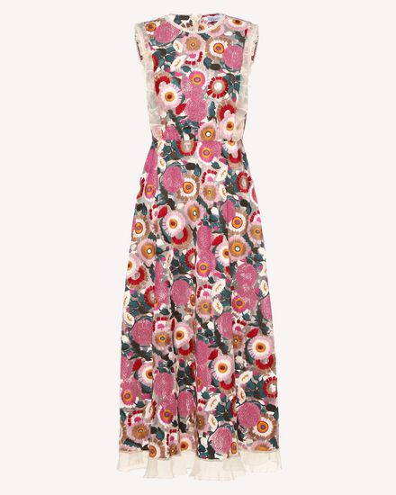 REDValentino Printed dress Woman RR3VA01EGJU A03 a