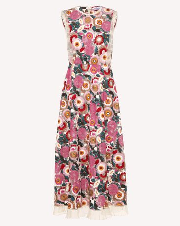 REDValentino RR3VA01EGJU A03 Printed dress Woman a