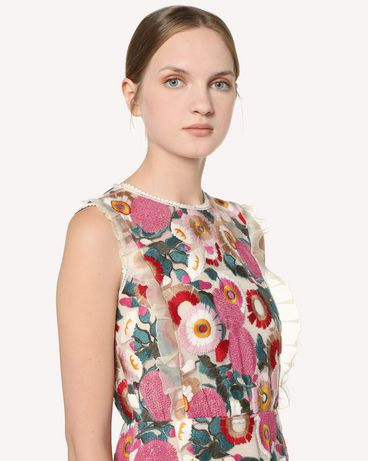 REDValentino RR3VA01EGJU A03 Printed dress Woman e