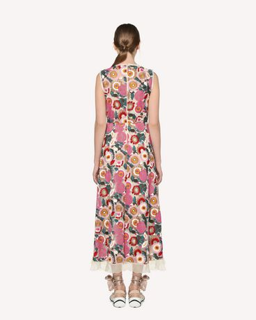 REDValentino RR3VA01EGJU A03 Printed dress Woman r