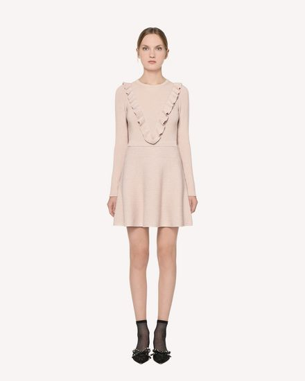 REDValentino Knit Dress Woman RR3KDA14VNR 377 f