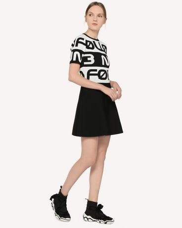 REDValentino RR3KDA22AQJ 0MG Knit Dress Woman d