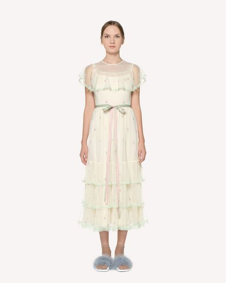 REDValentino Long dress Woman RR3VA00VRWT A03 f