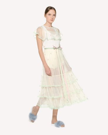 REDValentino RR3VA00VRWT A03 Long and midi dresses Woman d
