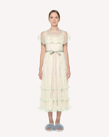 REDValentino RR3VA00VRWT A03 Long and midi dresses Woman f
