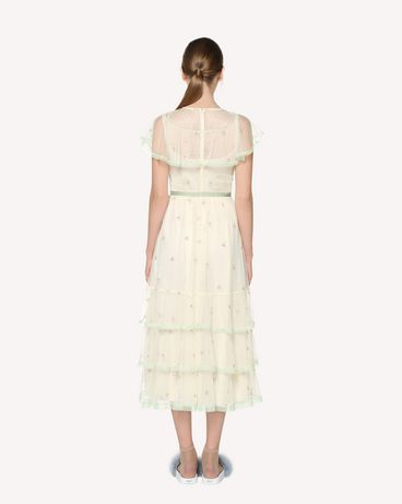 REDValentino RR3VA00VRWT A03 Long and midi dresses Woman r
