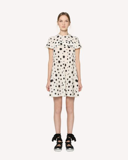 REDValentino Printed dress Woman RR3VAB15XKP 031 f