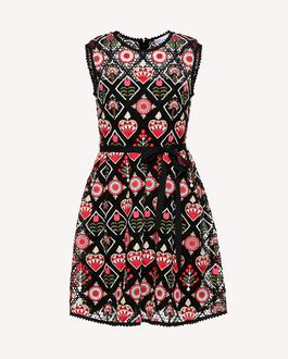 REDValentino Long and midi dresses Woman RR3VA00VRWT A03 a