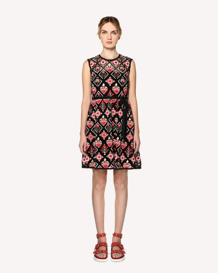 REDValentino Short dress Woman RR0VA02DCSL 0AP f