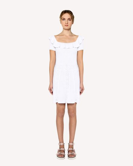 REDValentino Knit Dress Woman RR0KDA36HUV 001 f
