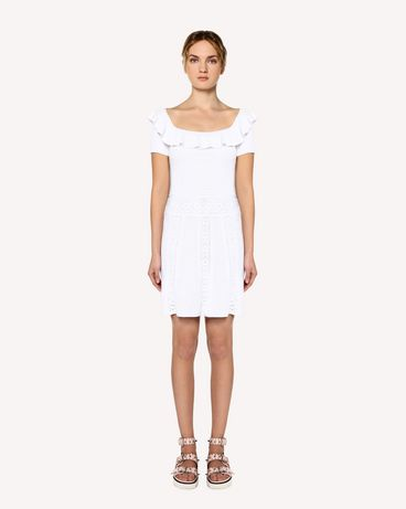 REDValentino RR0KDA36HUV 001 Knit Dress Woman f