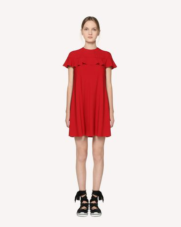 REDValentino RR3VAB150F1 D05 Short dress Woman f