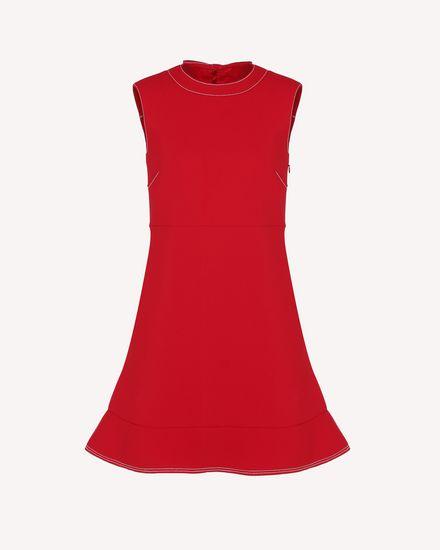 REDValentino Короткое платье Для Женщин RR3VAA10LCC D05 a
