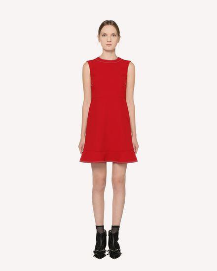 REDValentino Короткое платье Для Женщин RR3VAA10LCC D05 f