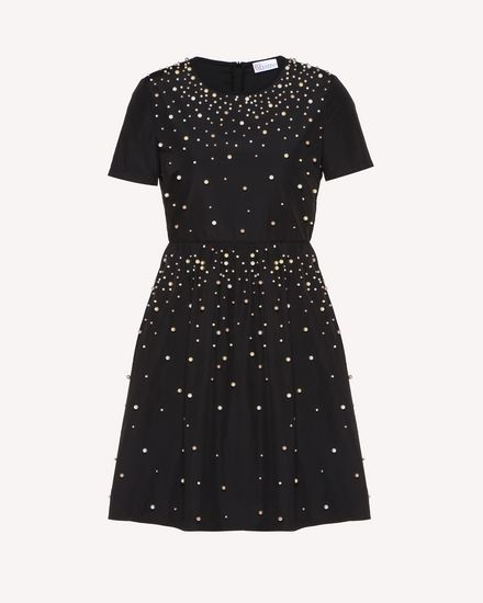 REDValentino Short dress Woman RR3VA01AXZF 0NO a
