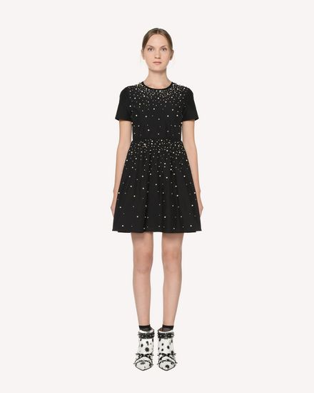 REDValentino Short dress Woman RR3VA01AXZF 0NO f