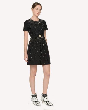 REDValentino RR3VA01AXZF 0NO Short dress Woman d