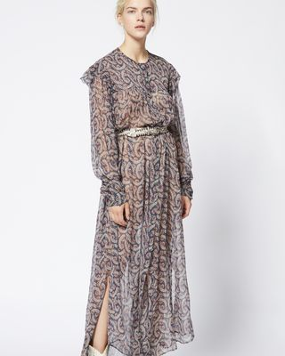 ISABEL MARANT ÉTOILE LONG DRESS Woman ELLIE dress r