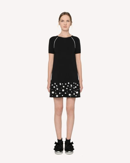 REDValentino Knit Dress Woman RR3KDA18SXC 0NO f