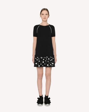 REDValentino RR3KDA18SXC 0NO Knit Dress Woman f
