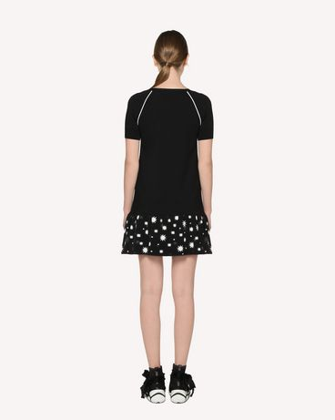REDValentino RR3KDA18SXC 0NO Knit Dress Woman r