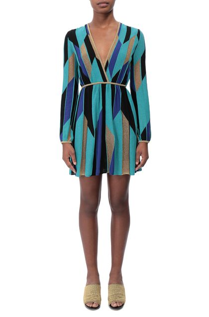 M MISSONI Minidress Black Woman - Back