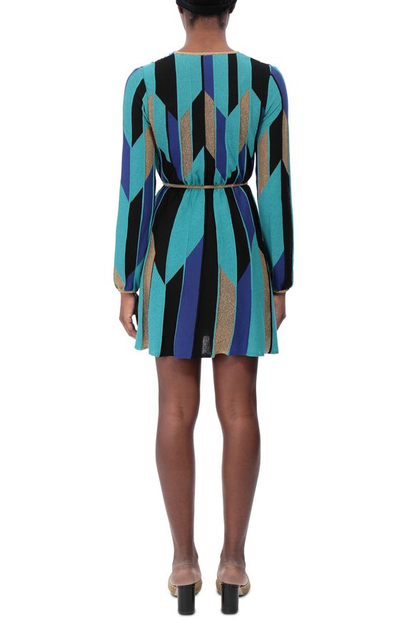 M MISSONI Minidress Woman, Side view