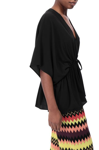 M MISSONI Tunic Black Woman - Front