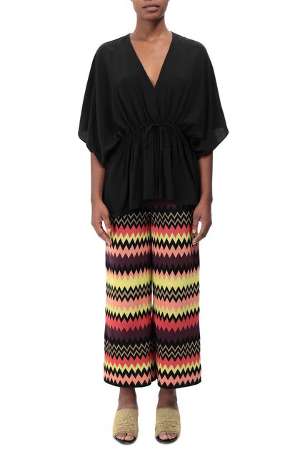 M MISSONI Tunic Black Woman - Back