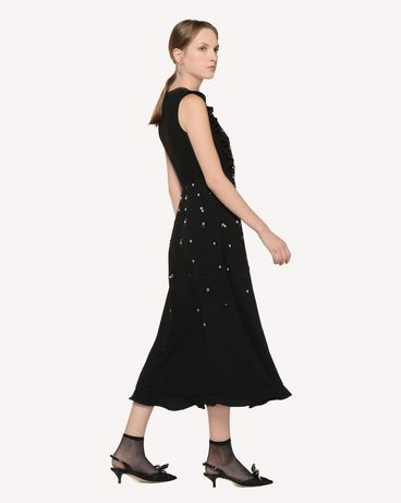 REDValentino RR3VA01DHQY 0NO Long dress Woman d