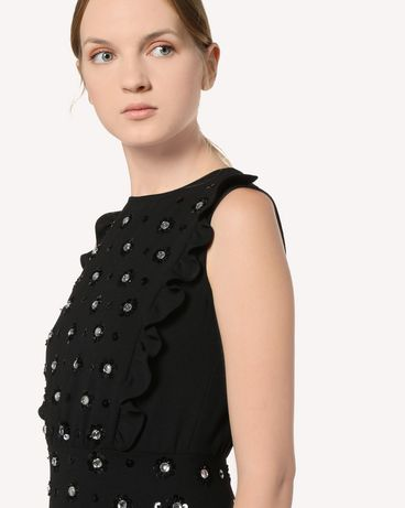 REDValentino RR3VA01DHQY 0NO Long dress Woman e
