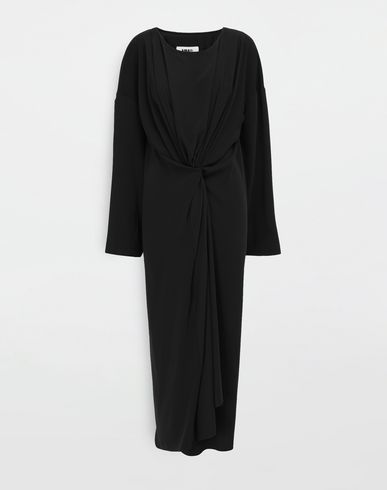 MM6 MAISON MARGIELA Long dress [*** pickupInStoreShipping_info ***] Draped maxi dress f