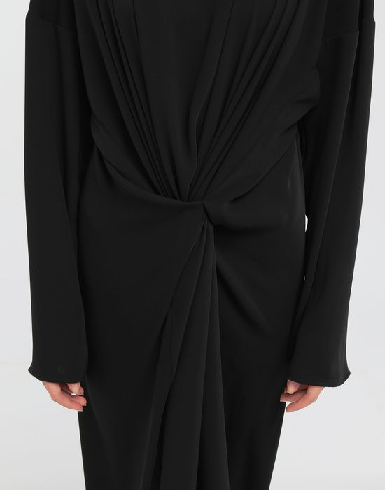 MM6 MAISON MARGIELA Draped maxi dress Long dress [*** pickupInStoreShipping_info ***] a