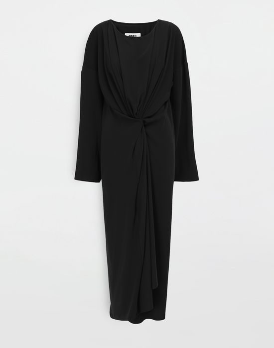 MM6 MAISON MARGIELA Draped maxi dress Long dress [*** pickupInStoreShipping_info ***] f