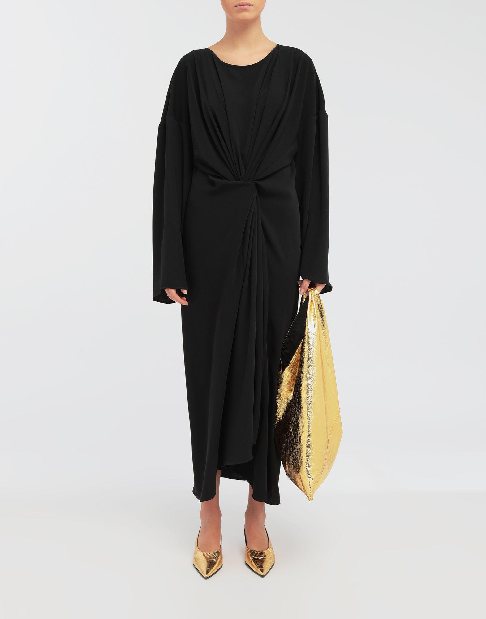 MM6 MAISON MARGIELA Draped maxi dress Long dress Woman d