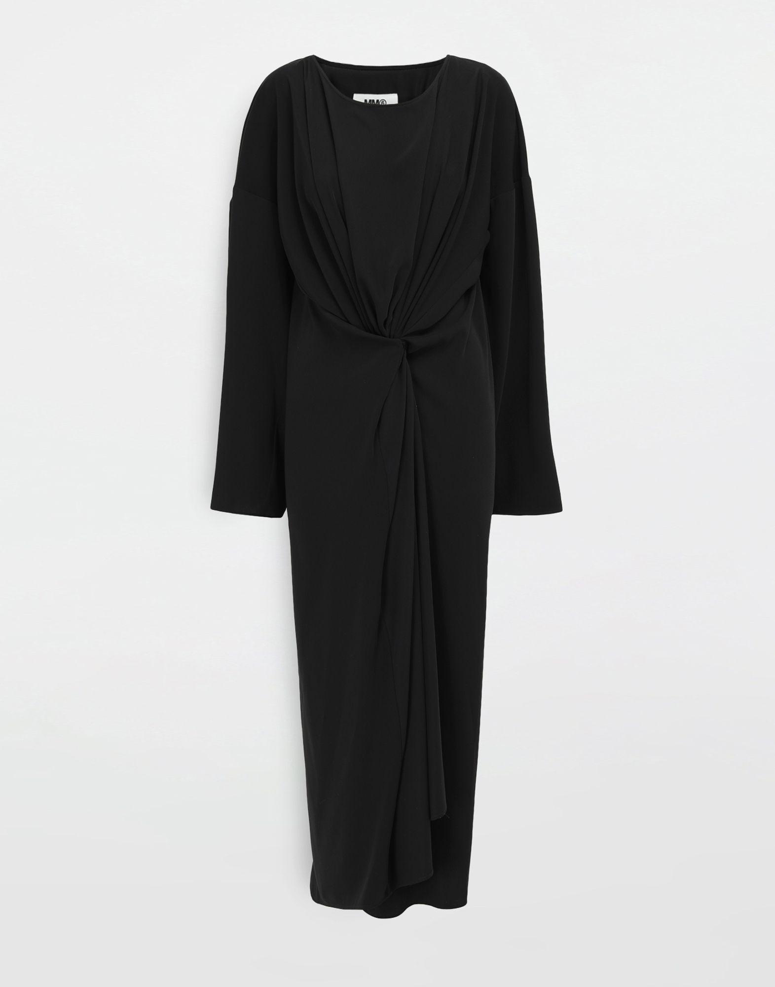MM6 MAISON MARGIELA Draped maxi dress Long dress Woman f