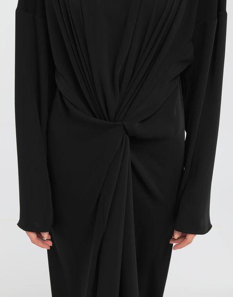 MM6 MAISON MARGIELA Draped maxi dress Long dress Woman a