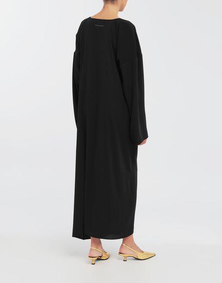 MM6 MAISON MARGIELA Draped maxi dress Long dress Woman e