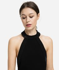 KARL LAGERFELD Halter-Neck Dress 9_f