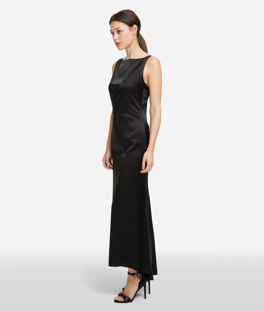KARL LAGERFELD Fluted Hem Dress Dress Woman d