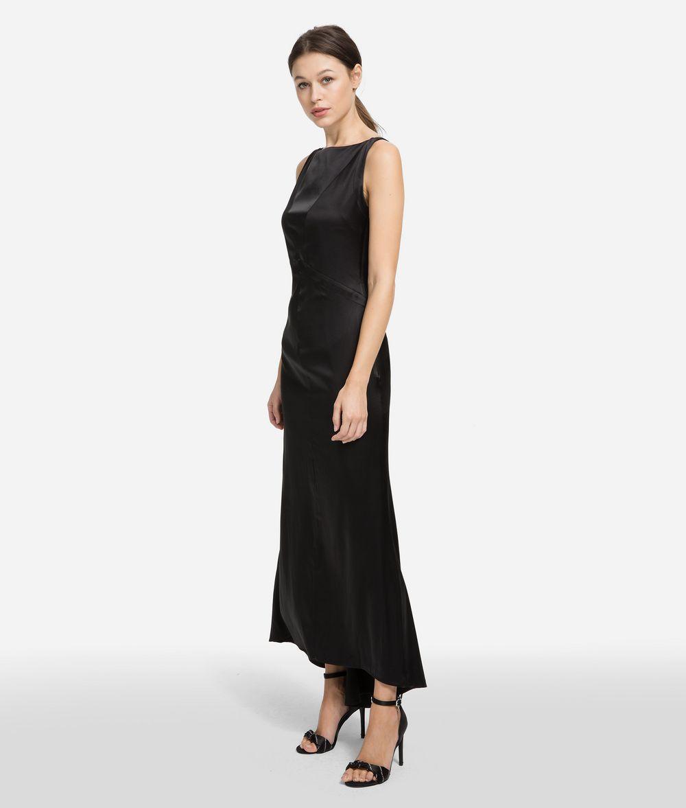 KARL LAGERFELD Fluted Hem Dress Dress Woman f