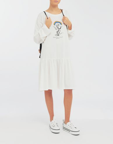 DRESSES Oversized Rainbowmaker print dress